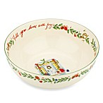 Lenox® Holiday™ 10-Inch Fill Your Home with Joy Bowl
