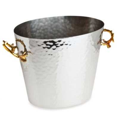 Godinger Leaf 2-Tone Wine Bucket