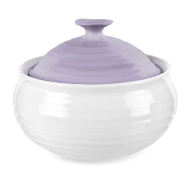 Sophie Conran for Portmeirion® Mini Casserole Bowl with Lid with Mulberry Band