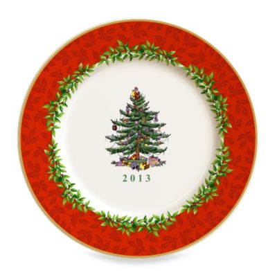 Spode® Christmas Tree 8-Inch Collector Plate