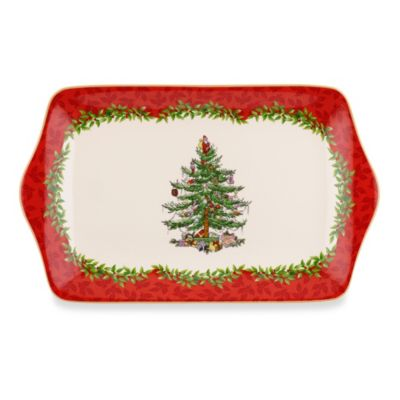 Spode® Christmas Tree 12-Inch 2013 Annual Dessert Tray
