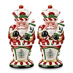 Spode® Christmas Tree Peppermint 4.75-Inch Nutcracker Salt and Pepper Shakers