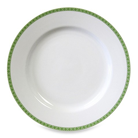 Nikko Faithful Round Platter in Green