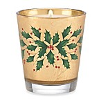 Lenox® Holiday™ 9 Ounce Gold Leaf Glass Candle