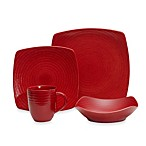 Red Vanilla Red Rice 16-Piece Dinner Set