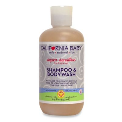 California Baby® Super Sensitive™ 8.5 oz. Shampoo & Bodywash