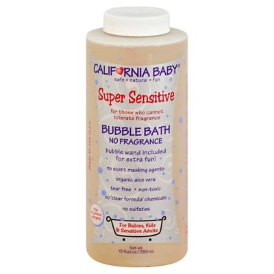 California Baby® Super Sensitive™ 13-Ounce Bubble Bath