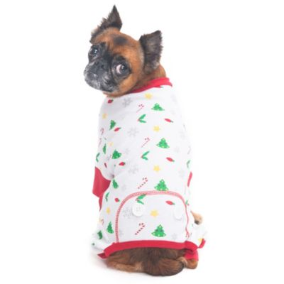 Holiday Cheer Size Extra Small Pajama Dog Costume