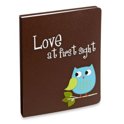 Love at First Sight Owl Baby Photo Album Brag Book - from Pioneer Photo