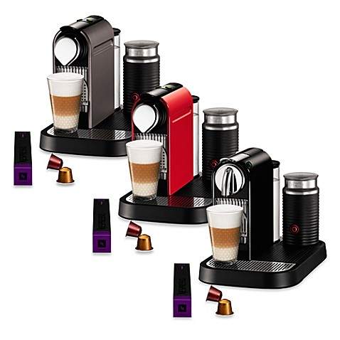 Nespresso® Citiz & Milk Espresso Maker with Aeroccino Plus Bundles