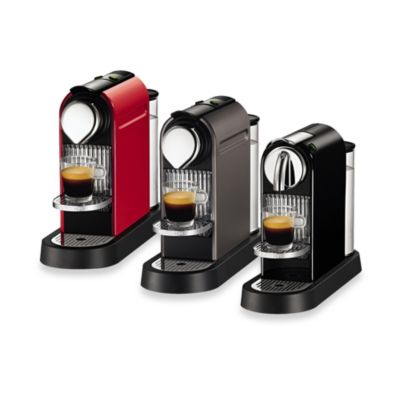 Nespresso® Citiz D111-US-BK-NE1 Espresso Maker in Black