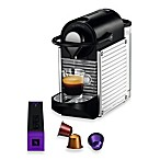 Nespresso® Pixie Espresso Machine in Chrome/Silver