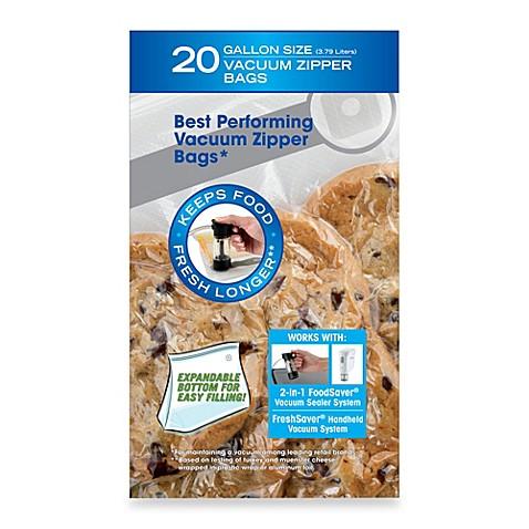 Foodsaver 174 Freshsaver 174 20 Count Gallon Size Vacuum Zipper