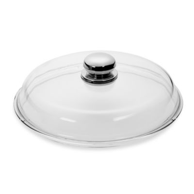 WMF Silit 10-Inch Glass Lid with Knob Handle
