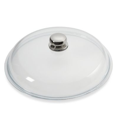 WMF Silit 12.5-Inch Glass Lid with Knob Handle