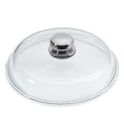 WMF Silit 9.5-Inch Glass Lid with Knob Handle
