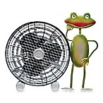 Himalayan Breeze Decorative Frog Fan in Medium