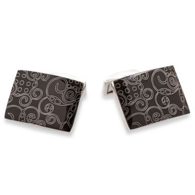 Stainless Steel Art Cufflinks