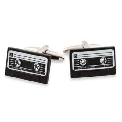 Cuff-Daddy Cassette Tape Cufflinks