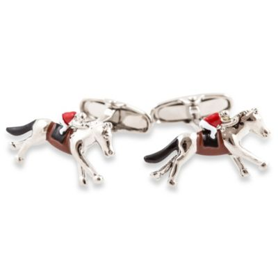 Cuff-Daddy Horse Racing Cufflinks