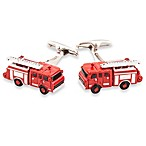 Cuff-Daddy Fire Engine Cufflinks
