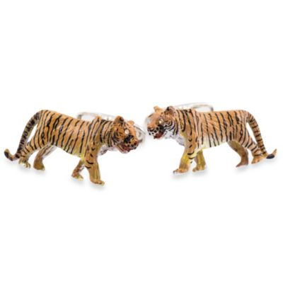 Cuff-Daddy Tiger Cufflinks