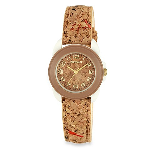 sprout eco friendly watch in light brown bed bath beyond