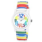 Sprout™ Women's Rainbow Striped Watch