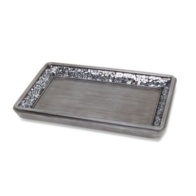 Omni Guest Towel Holder in Pewter