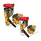 Tervis® Chicago Blackhawks Wrap Tumbler with Red Lid