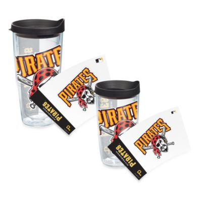 Tervis® Pittsburgh Pirates Wrap Tumbler with Black Lid