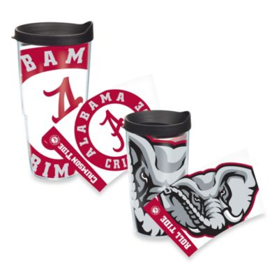 Tervis® University of Alabama Big Al 16-Ounce Wrap Tumbler with Black Lid