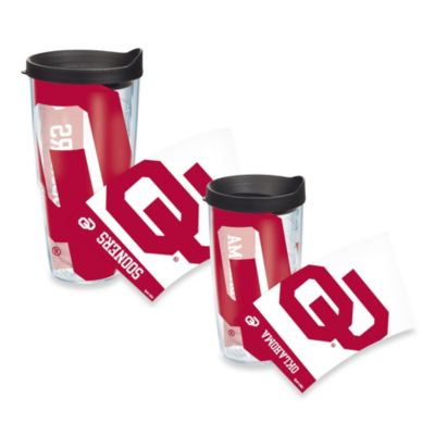 Tervis® University of Oklahoma 16-Ounce Wrap Tumbler with Black Lid