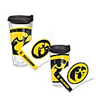 Tervis® University of Iowa Hawkeyes Wrap Tumbler with Black Lid