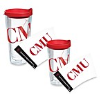 Tervis® Carnegie Mellon University Wrap Tumbler with Red Lid