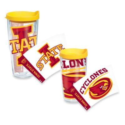 Tervis® Iowa State Cyclones 16-Ounce Wrap Tumbler with Yellow Lid