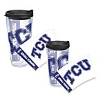 Tervis® TCU Horned Frogs Wrap Tumbler with Black Lid