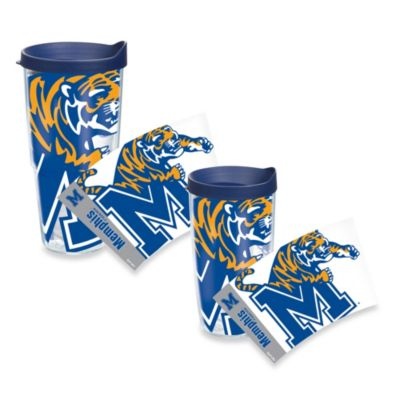 Tervis® University of Memphis Tigers 16-Ounce Wrap Tumbler with Blue Lid