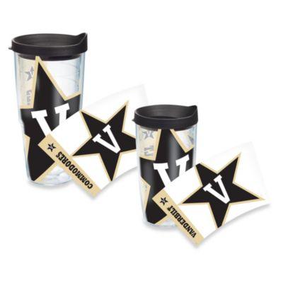 Tervis® Vanderbilt University 16-Ounce Wrap Tumbler with Black Lid