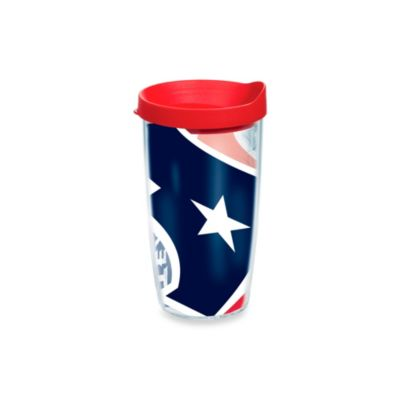 Tervis® Houston Texans 16-Ounce Wrap Tumbler with Red Lid