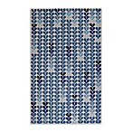 Kevin O'Brien for Capel Rugs Droplets Rug in Blue Rain