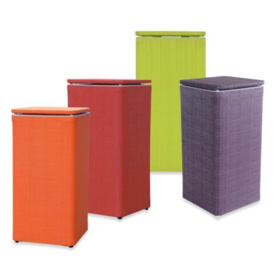Lamont Home™ Brights Apartment Hamper in Peacock