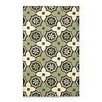 Kevin O'Brien for Capel Rugs Mesmerize Medallion Rug in Aloe