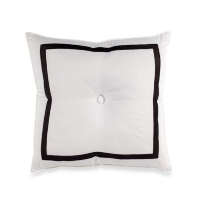 Trina Turk® Button Square Toss Pillow