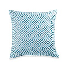Trina Turk® Trellis Maze 18-Inch Square Throw Pillow in Turquoise