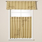 Scroll Leaf Window Curtain Tiers