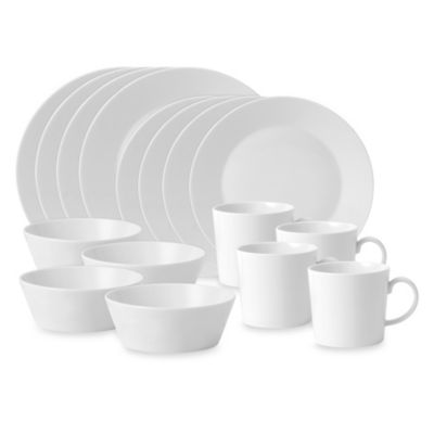 Royal Doulton® Fable 16-Piece Place Setting in White