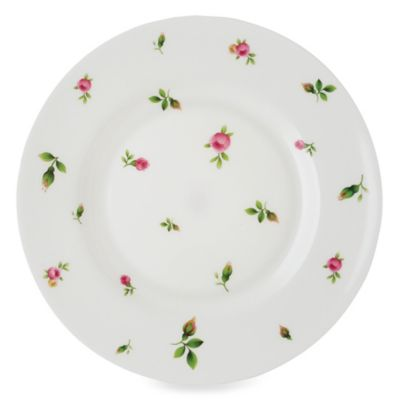 Royal Albert New Country Roses White Vintage Formal 8.3-Inch Salad Plate