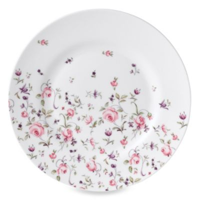 Royal Albert Rose Confetti Formal Vintage Salad Plate
