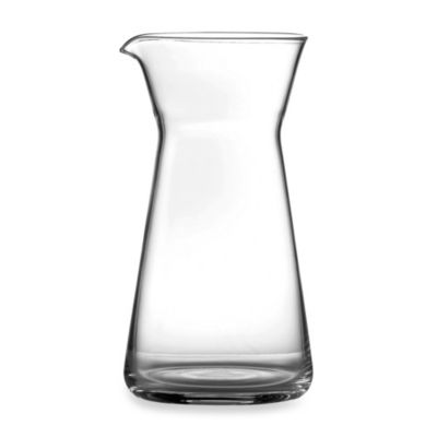 Royal Doulton® Mode White Clear Glass Pitcher